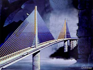 Artists impression of the new bridge